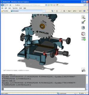 3d online visualization of cad data spatial corp Online cad editor